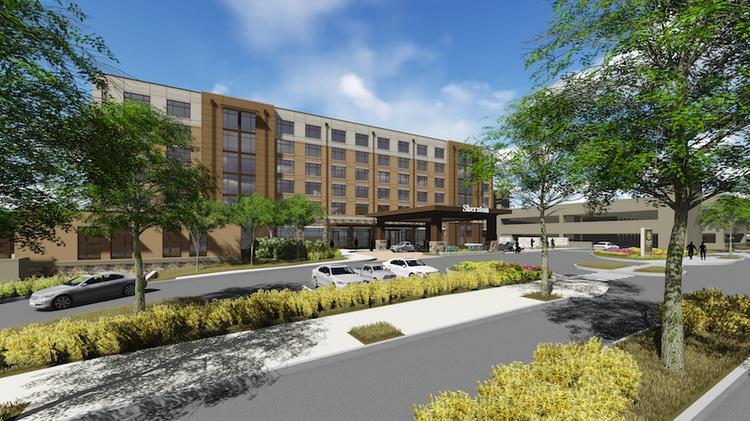 Sheraton Hotel near Gardens at Verde Vista new homes in Georgetown, TX