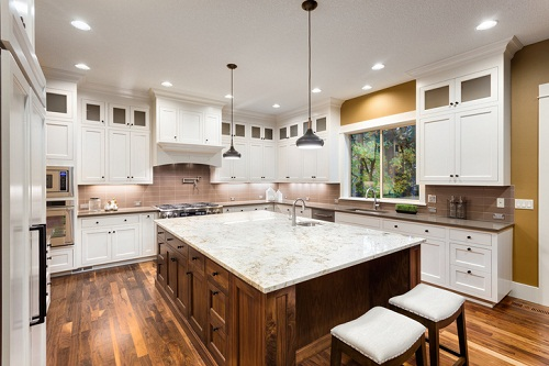 Decorating kitchen for the fall at Gardens at Verde Vista