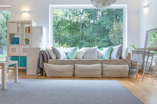 Decorating living room in your new Gardens at Verde Vista home for the fall